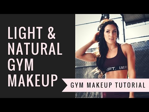 GYM MAKEUP TUTORIAL – Fresh, Everyday Look in Under 10 Minutes!