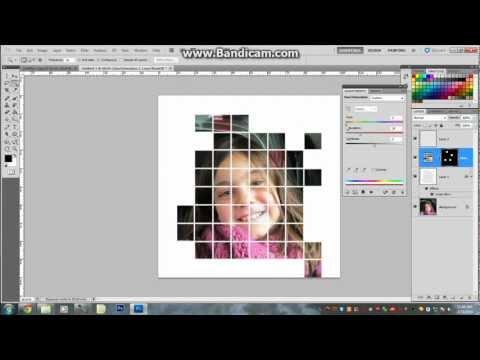 How to create a Grid Photo Photoshop CS5