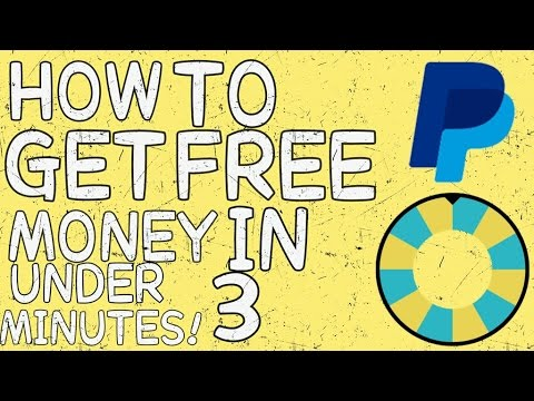 HOW TO GET FREE PAYPAL MONEY IN UNDER 3 MINUTES! (iOS/ANDROID) (WORKING APRIL 2018)