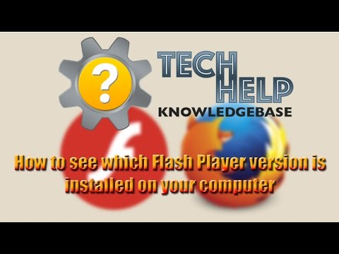 How to see which version of Flash Player is installed on your computer