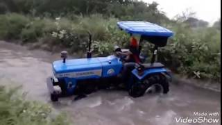 Jutt full tractor stunts In HD with punjabi song  by CH Noor ul hassan cheema
