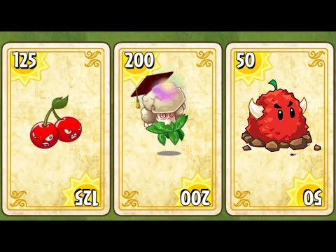 Plants vs Zombies 2 Gameplay Endless Zone by Primal PVZ 2 Game - New Plants