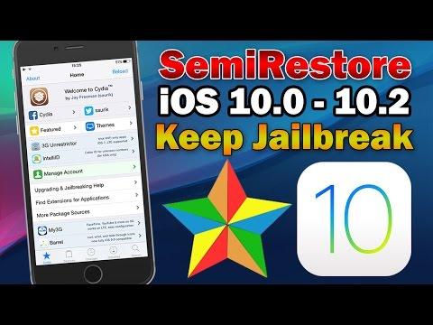How to Reset iOS 10 Jailbreak to Original State Without Restoring (SemiRestore10-Lite)