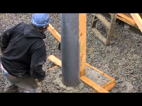 Fast-Tube™ Concrete Column Form Installation