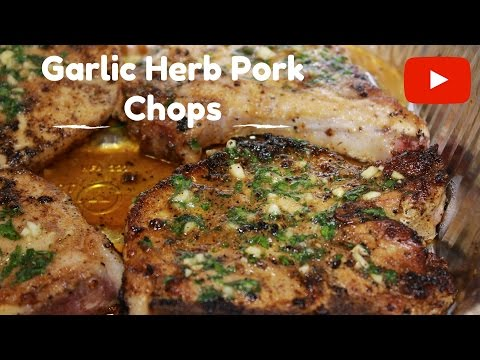 Seared Garlic and Herb Pork Chops - Dope Chicks Cook