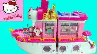 Hello Kitty Mega Bloks Cruise Ship 10930 ToyGenie