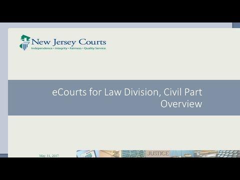Civil Part eCourtsTraining