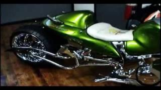 GARWOOD CUSTOM CYCLES '' GRIP IT AND RIP IT'' by STITCHY C