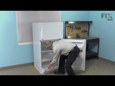Frigidaire Refrigerator Repair – How to replace the Crisper Pan