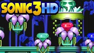 sonic 3 hd demo mushroom hill hidden palace getplay