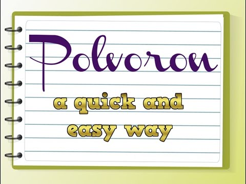 HOW TO MAKE POLVORON + DIFFERENT FLAVORS