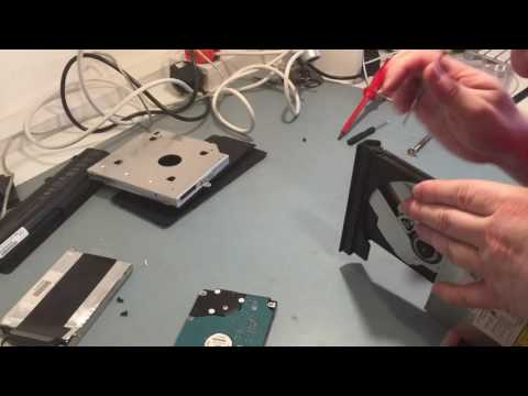 HowTo: Install 2nd Hard Drive in laptop alongside an SSD.