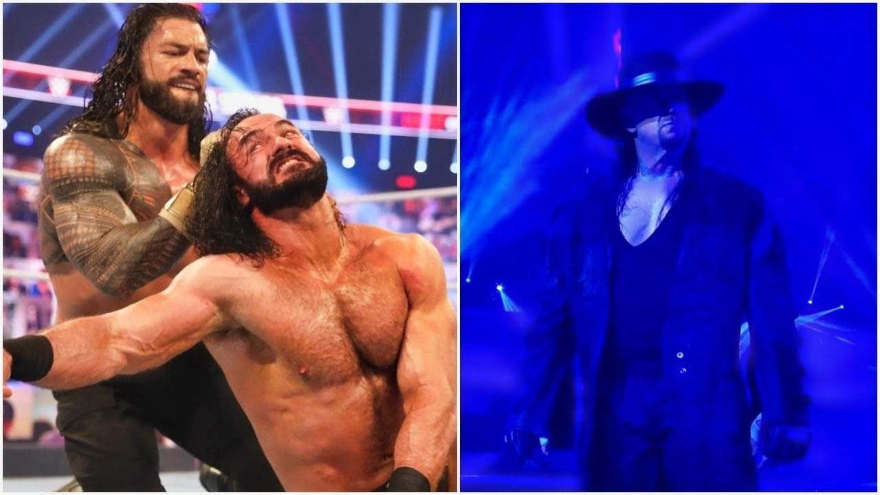 Roman Reigns BEST OF THE BEST After DEFEATING Drew Mcintyre 2020 - Undertaker FINAL GOODBYE 2020 |