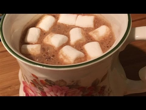 Easy Almond Butter Hot Chocolate Recipe