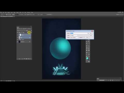 Photoshop art tutorial: paint a sci-fi hologram