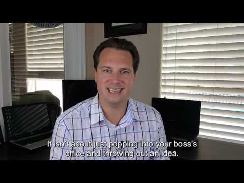 How To Get Your Boss To Accept Your Ideas