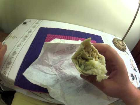 FoodReview: Taco Bell Chicken Burrito