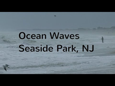 Seaside Park Ocean Waves