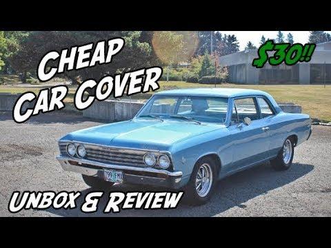 Cheap Classic Car Cover - Leader Accessories Basic Guard Car Cover