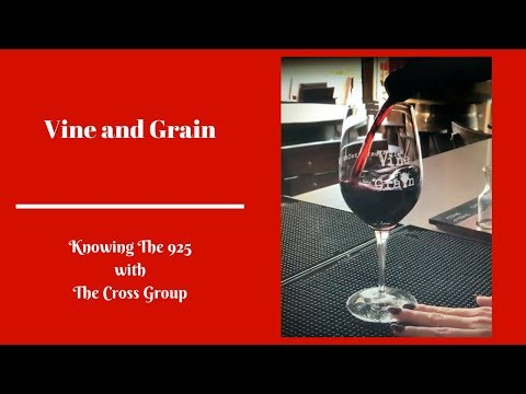 Knowing The 925 features Vine & Grain