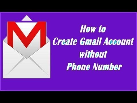 How to Create Gmail Account Without Phone Number Verification 2018