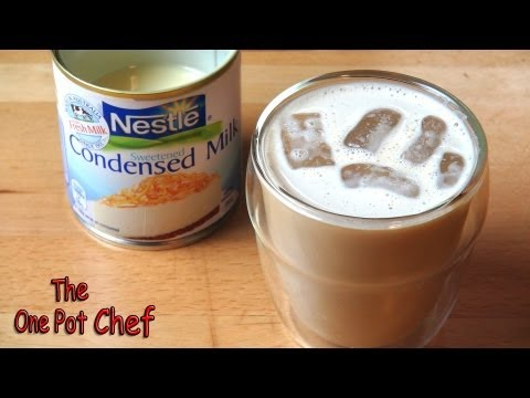 Vietnamese Style Iced Coffee | One Pot Chef