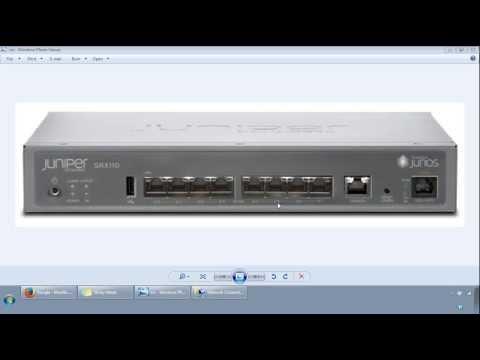 Juniper SRX Initial Configuration Get Started Video