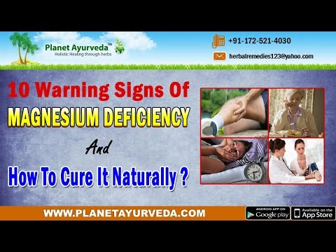 10 warning signs of magnesium deficiency and how to cure it naturally