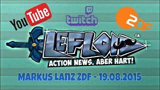 Zdf Youtuber Lefloid Alias Florian Mundt - 19.08.2015 (full Video)