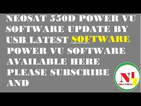 Neosat 550D china Reciever power vu auto roll latest