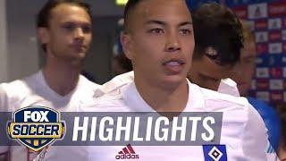 Hamburg vs. Wolfsburg   2016-17 Bundesliga Highlights