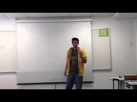 Oral business presentation