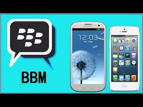 BBM On to iPhone & Android !