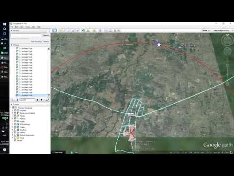 How to draw route in google earth and export to KML or Tab File