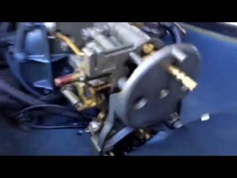 1963 evinrude outboard sportwin carb carburetor removal