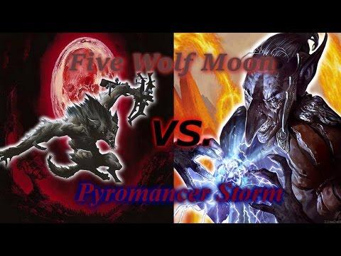 Modern Magic — Five Wolf Moon vs. Pyromancer Storm