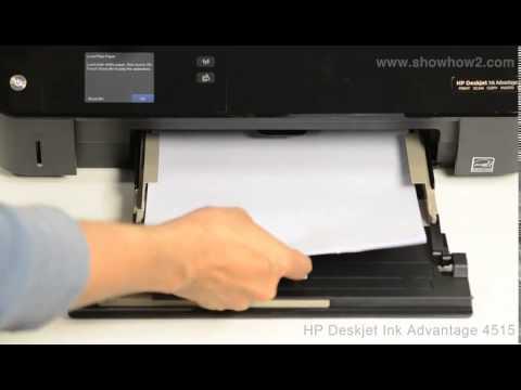 HP Deskjet Ink Advantage 4515 - Replacing Ink Cartridges