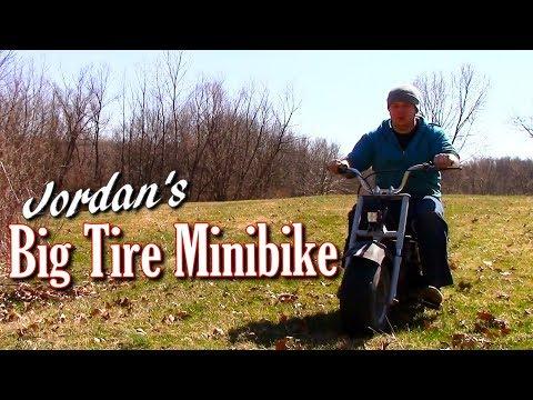 Jordan's 6.5 HP Minibike and Race Vs Me on Foot
