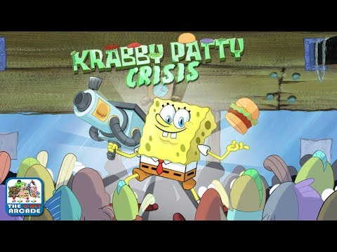 SpongeBob SquarePants: Krabby Patty Crisis - Sling Patties at Customers (Nickelodeon Games)