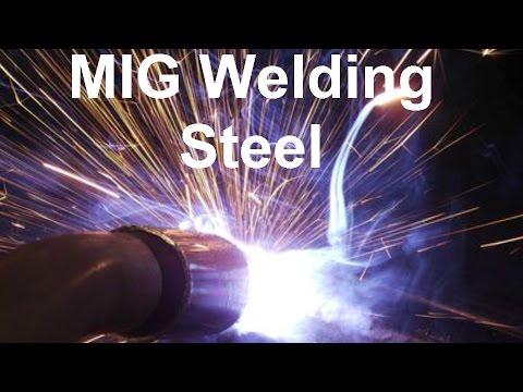 Mig Welding  Steel In The Flat Position