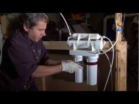 Basic Reverse Osmosis Filter Change