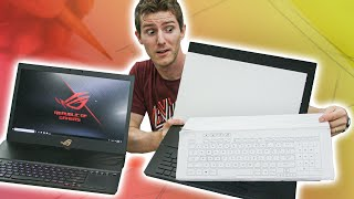 How a Gaming Laptop Gets Made - ROG Design Center Tour