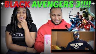 """RDCworld1 """"BLACK AVENGERS 3: INFINITY WAR TRAILER"""" REACTION!!!"""