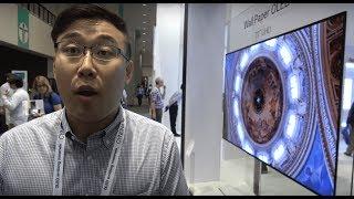 """LG Display shows 8K 31.5"""", Wallpaper OLED, pOLED, Transparent OLED, 4K bezel-less and more"""