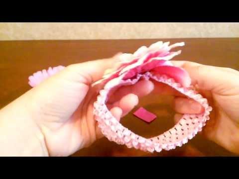 How to make a Baby Flower Headband (Tutorial) by shopbgd.com