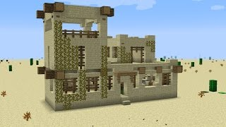 Remodeling a Desert Village in Minecraft?! Let's start with