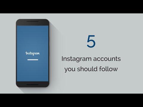 5 Instagram Accounts You Should Follow