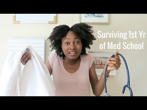 How to SURVIVE  First Year of Medical School
