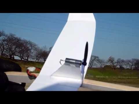 free flight Motor paper airplane 2014/12/8