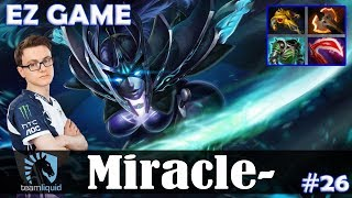 Miracle - Phantom Assassin Safelane | EZ GAME | Dota 2 Pro MMR Gameplay #26